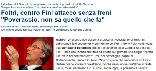 """Nel mirino anche Renata Polverini: """"Non mi ero accorto fosse una donna.."""""""
